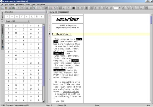 wordrider mac
